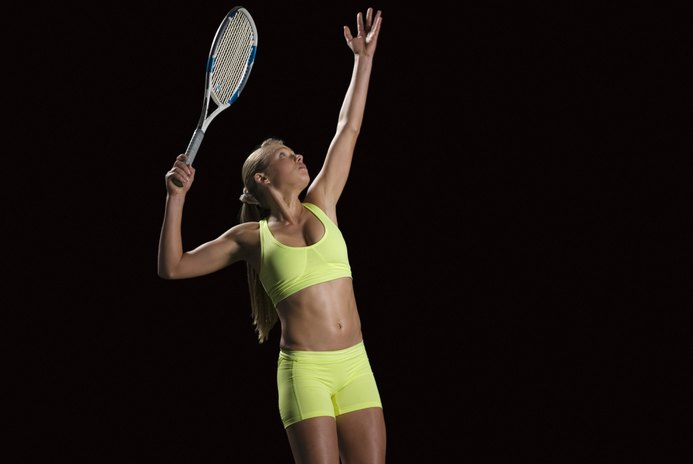 Tennis Serving Exercises