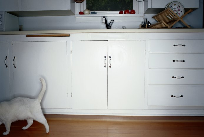 Keeping Cats From Opening Cabinets
