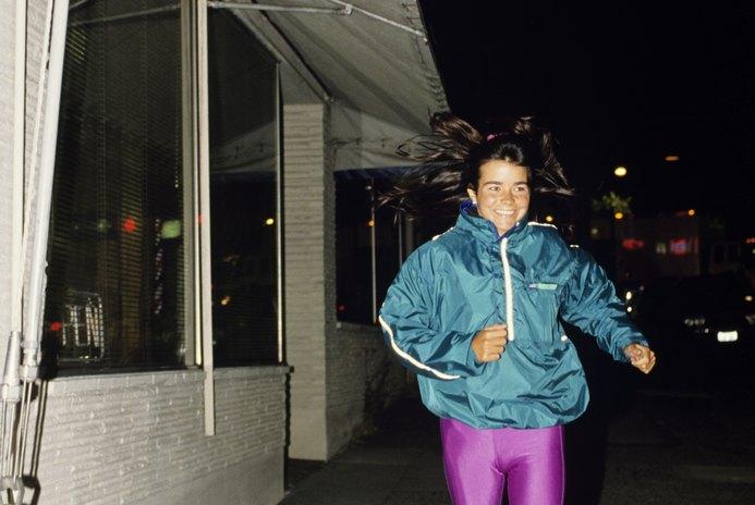 Jogging in the Morning vs. Jogging at Night
