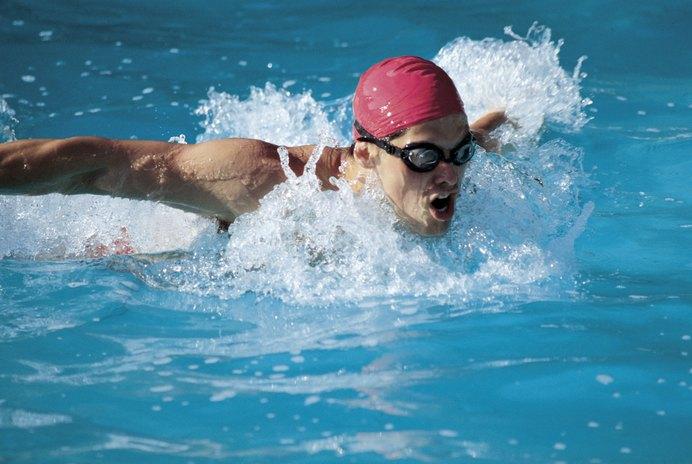 Wrist Position When Swimming
