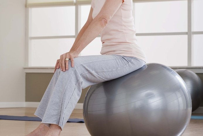 Pilates & Yoga Training on a Balance Ball
