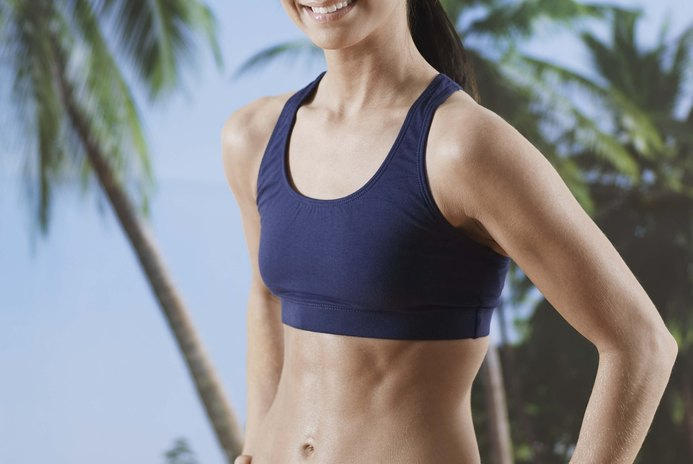 Stretch Band Exercises for a Flat Stomach