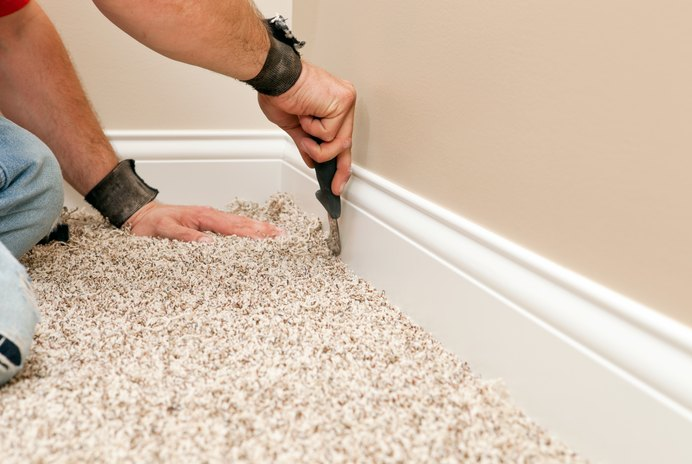 The Average Cost of Carpet Laying