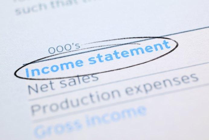 What Are Debits & Credits When Preparing an Income Statement?