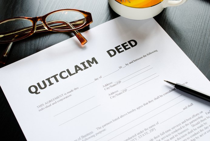 How to Get a Name Off a Deed