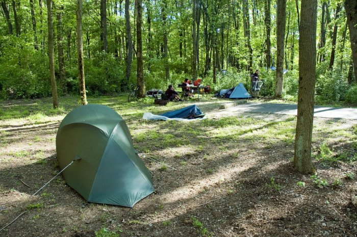 10 Perfect Camping Spots In Ohio