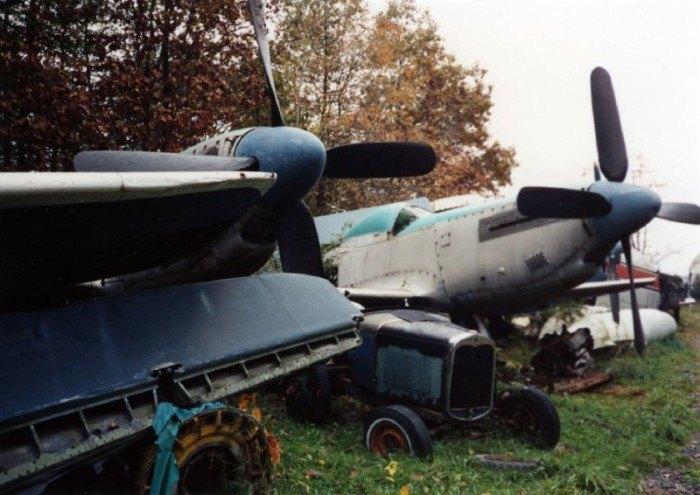 Airplane Junkyard In Northeast Ohio