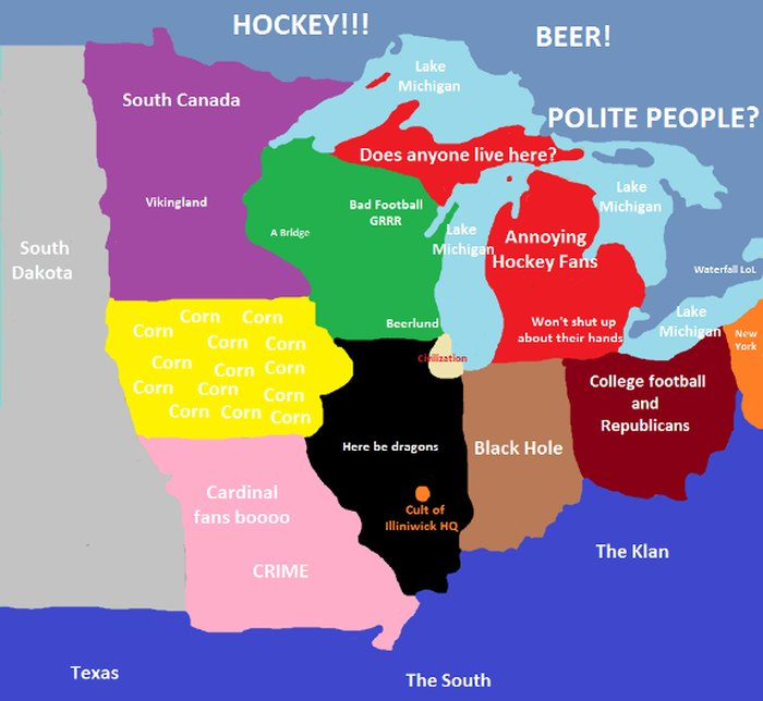 6 Maps Of Michigan That Are Just Too Perfect (And Hilarious) Stereotype Map Of Grand Rapids on map of holgate, map of esko, map of alpena community college, map of mount morris, map of jenison, map of paynesville area, map of birch run township, map of grindstone city, map of the detroit, map of mankato area, map of west branch, map of troutdale, map of little falls, map of lindstrom, map of barnesville, map of pauls valley, map of iron county, map of olivet, map of heppner, map of iron river,