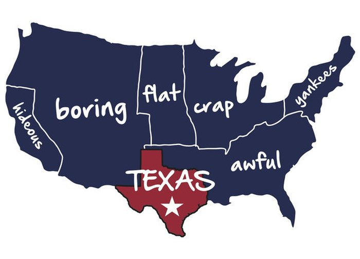 Map Of Australia Funny.8 Funny Maps Of Texas