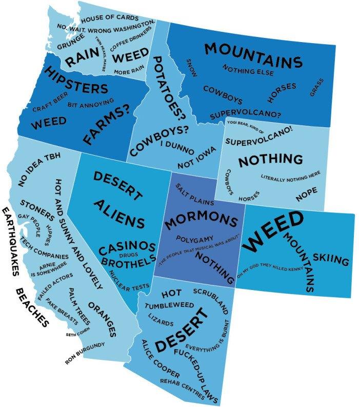 Funny Maps of Washington