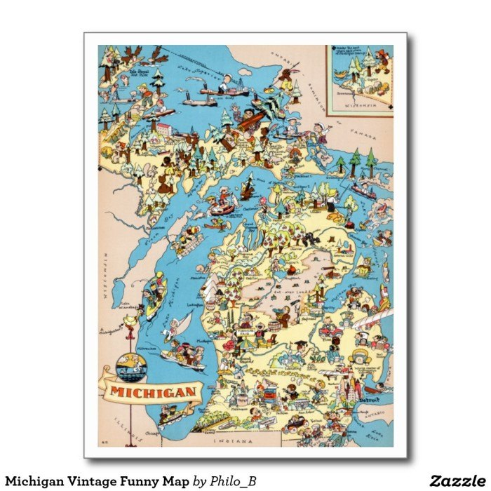 6 Maps Of Michigan That Are Just Too Perfect (And Hilarious) Detroit Map Of Stereotypes on detroit love, detroit community, detroit culture, detroit beauty, detroit geography, detroit men, detroit violence, detroit symbols, detroit crime, detroit poverty, detroit food,
