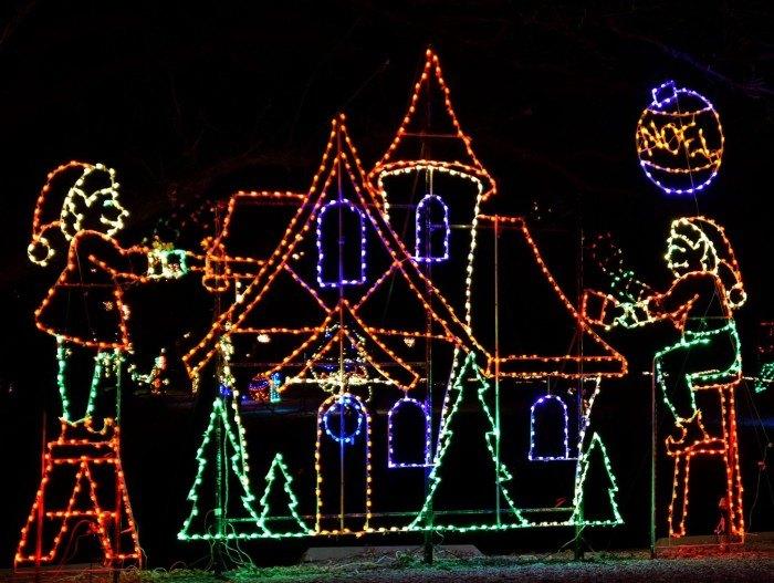 Christmas Lights In Wichita Ks.10 Best Christmas Light Displays In Kansas