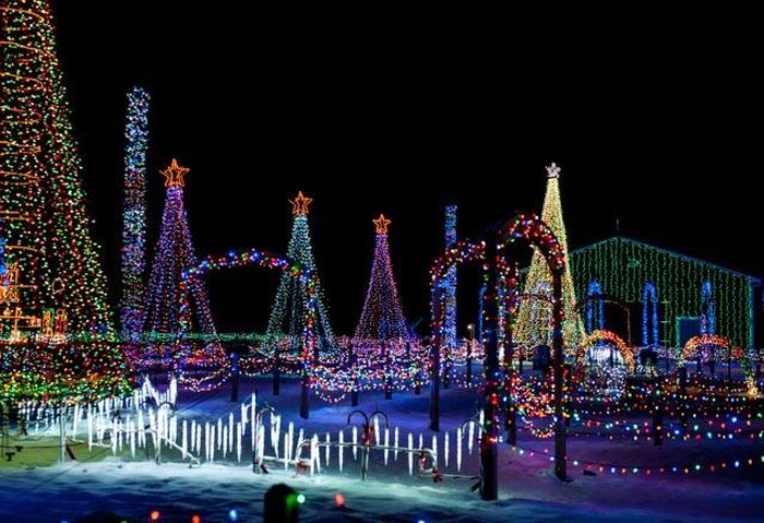 The Christmas Ranch.The 13 Best Most Incredible Christmas Light Displays In Ohio