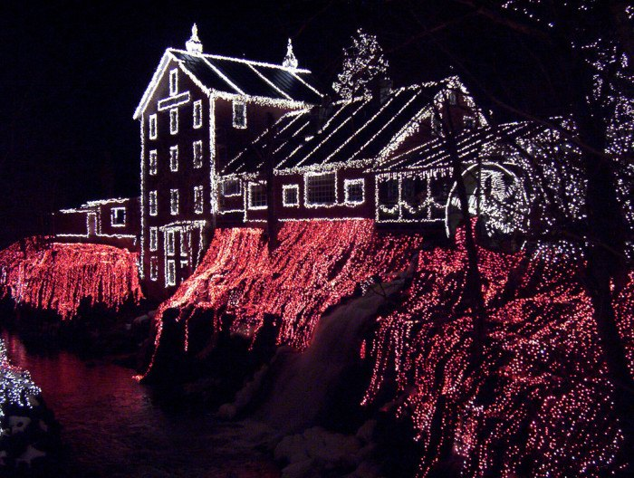 Clifton Mill Christmas Lights.The 13 Best Most Incredible Christmas Light Displays In Ohio