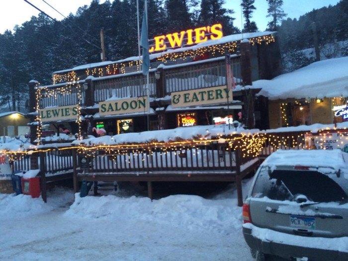 Lewie's Saloon Best Burgers SD