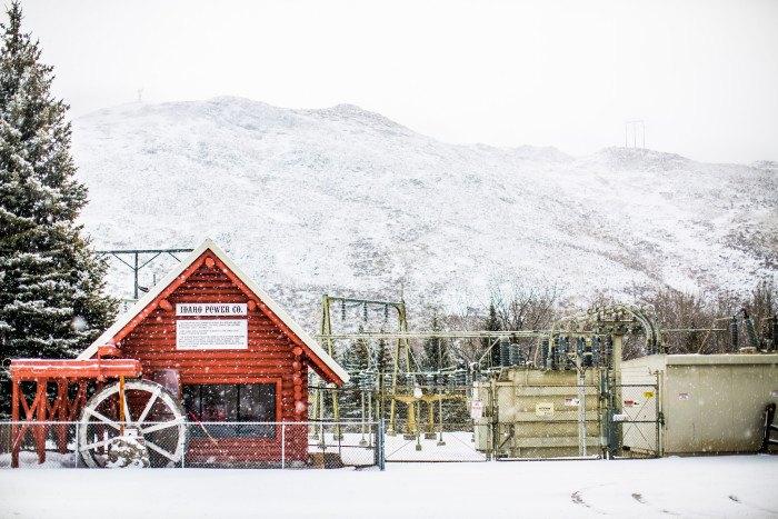 Sun Valley, Idaho in Winter