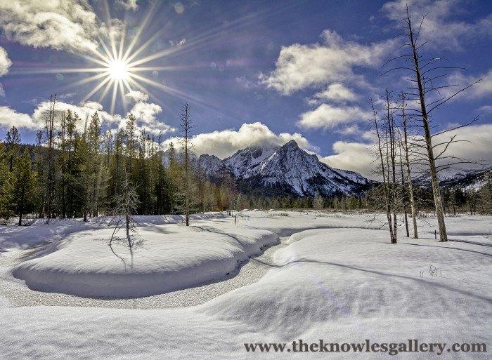 Stanley, Idaho in Winter