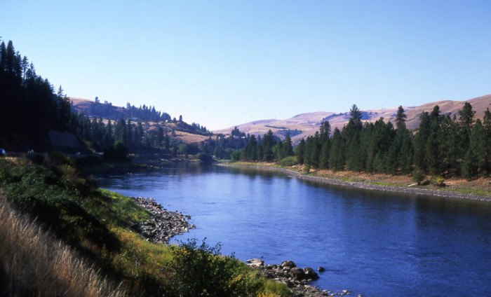 Clearwater River in Idaho