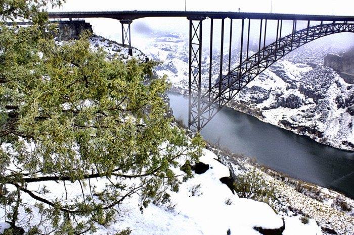 Twin Falls, Idaho in Winter