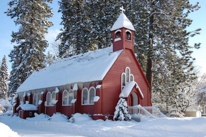 Coeur d'Alene, Idaho in Winter