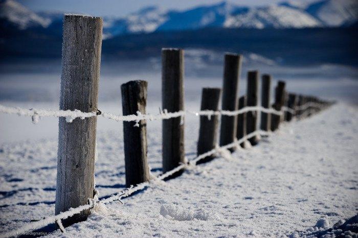 Victor, Idaho in Winter