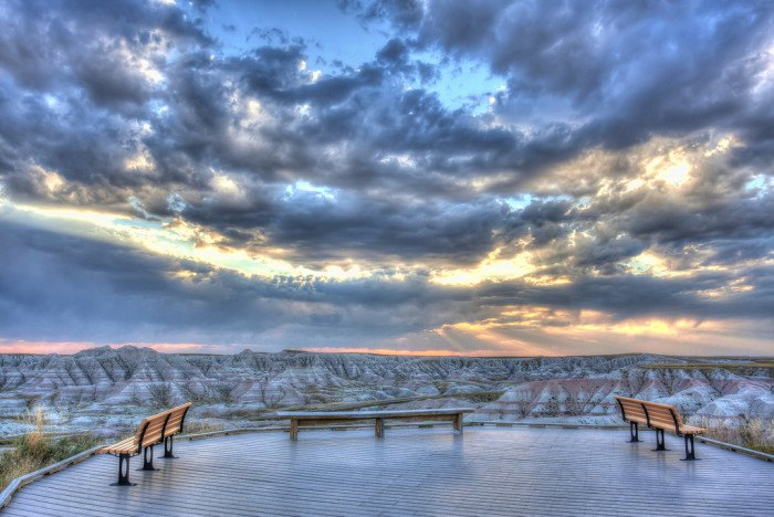 a wintery sunset - stunning sunsets in south dakota