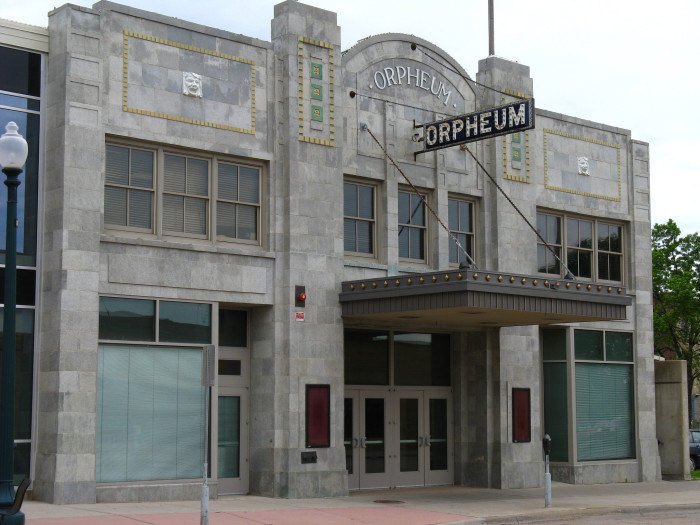 Orpheum Theatre - terrifying urban legends sd