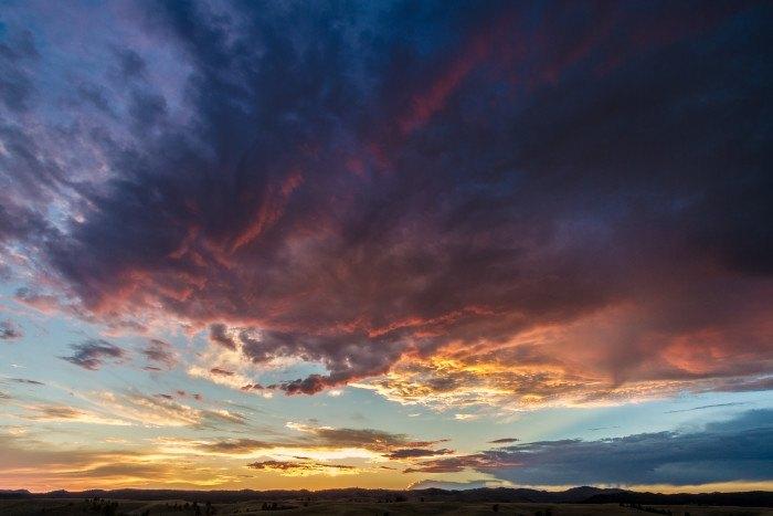 Black hills sunset - - stunning sunsets in south dakota