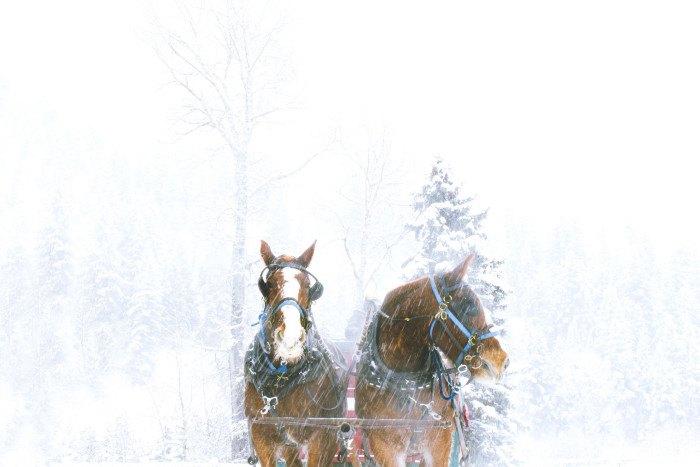 Ketchum, Idaho in Winter