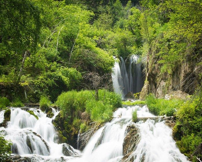 South Dakota waterfalls road trip - Roughlock Falls