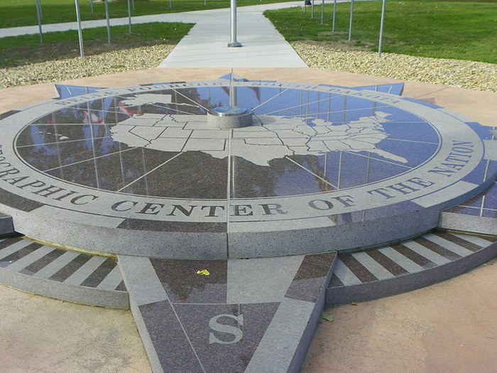 The Geographic Center of the United States is located in Belle Fourche, SD.