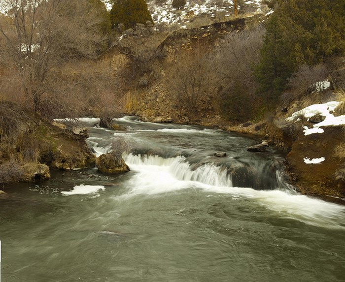 South Dakota waterfalls road trip - Cascade Falls near Hot Springs