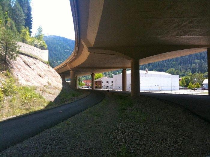 Wallace, Idaho I-90