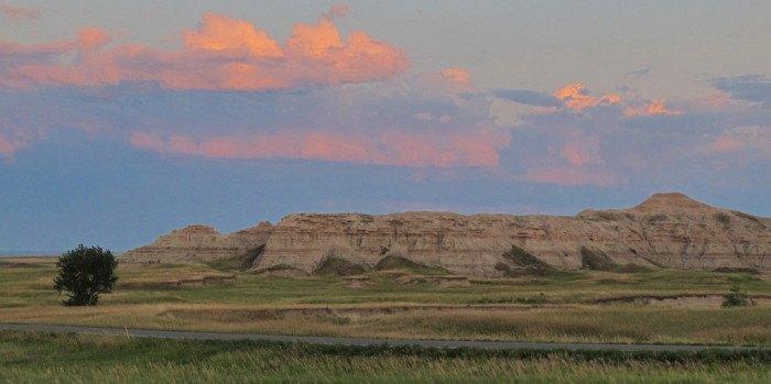 A stunning sunrise at Cedar Creek Campground - sunrises in south dakota