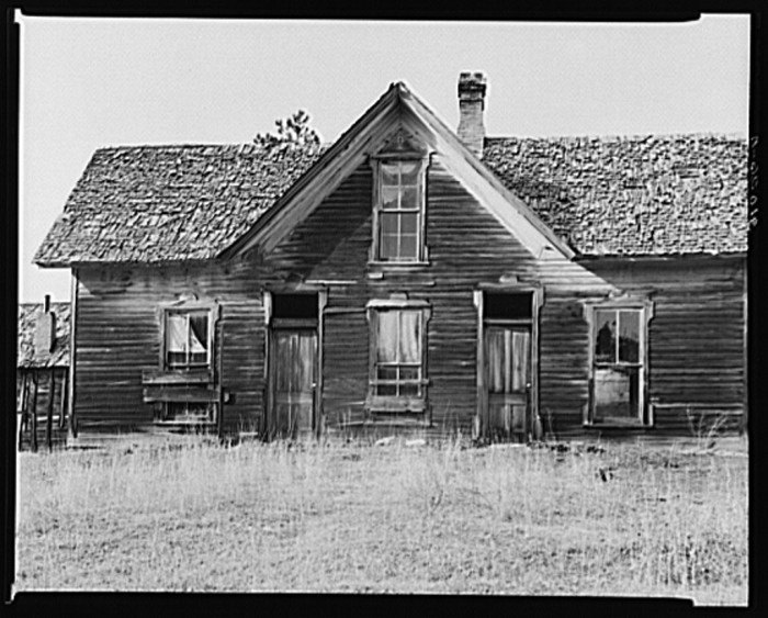 The home of the Hardin Family near Deadwood, SD.