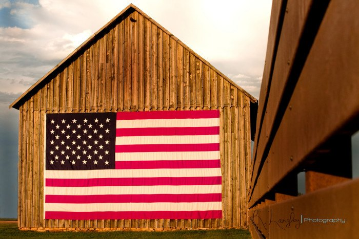Old Barns In South Dakota