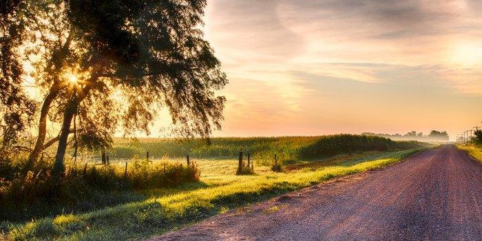 Frisby, South Dakota sure has some jaw-dropping sunrises - sunrises in south dakota