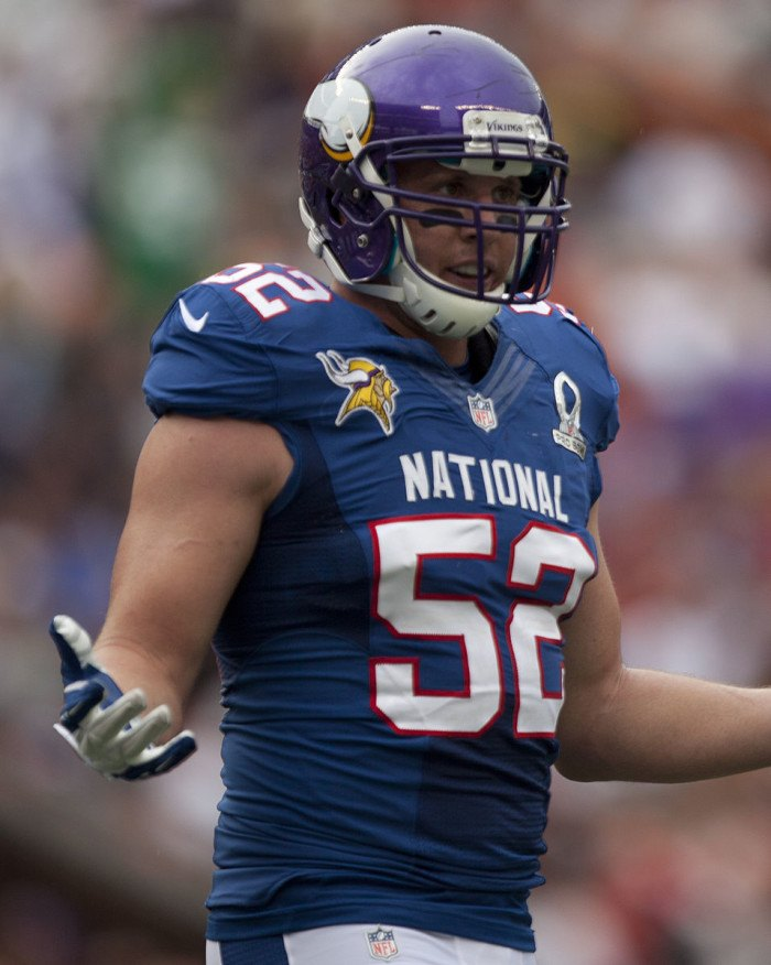 Chad Greenway - famous people from sd