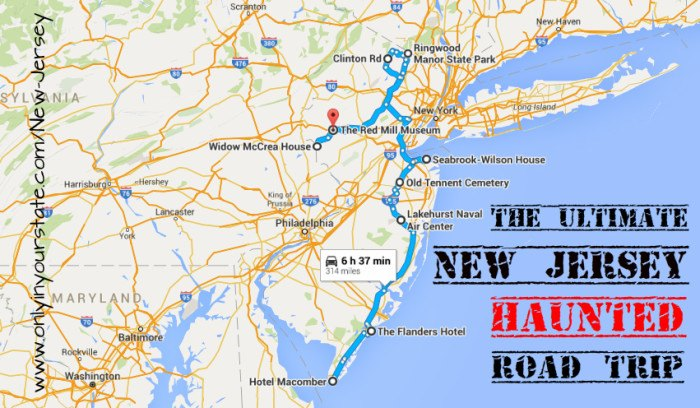 The Ultimate Haunted New Jersey Road Trip