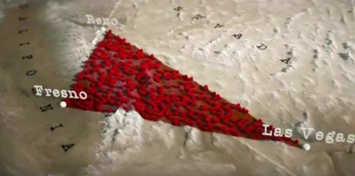 the nevada desert triangle