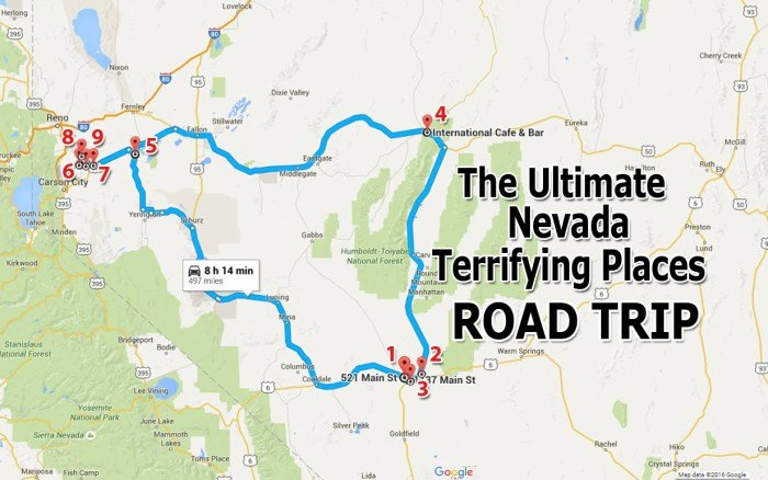 The Ultimate Terrifying Nevada Road Trip