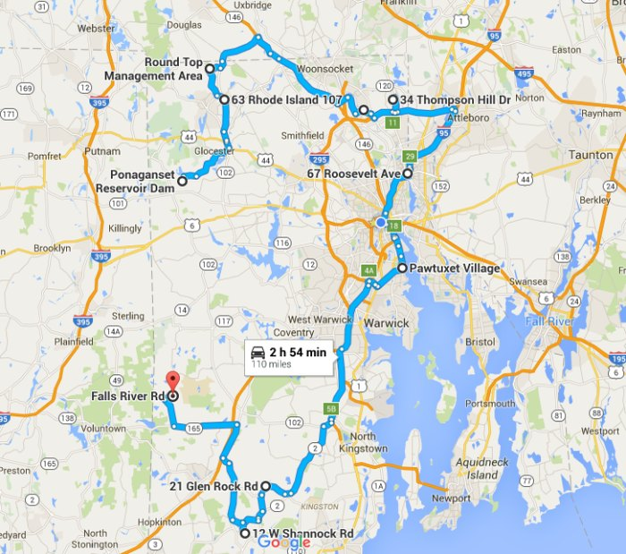The Ultimate Rhode Island Waterfalls Road Trip