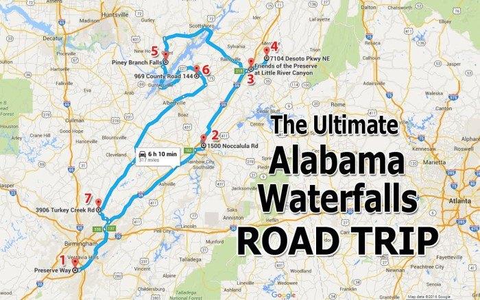 The Ultimate Alabama Waterfalls Road Trip on alabama street map, alabama road atlas, alabama st map, united states map, alabama counties, alabama hwy map, alabama coastal map, south alabama map, official alabama highway map, alabama interstate map, birmingham alabama map, montgomery alabama map, california map, alabama river map, alabama on map, anniston alabama map, al map, alabama shore map, alabama info, alabama travel map,