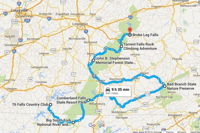 The Ultimate Kentucky Waterfall Road Trip on wv map, ae map, indiana map, ne map, sc map, pa map, nm map, ohio map, n. ca map, oh map, tenn map, kentucky map, ri map, new york map, nc map, state map, usa map, mo map, va map, tn map,