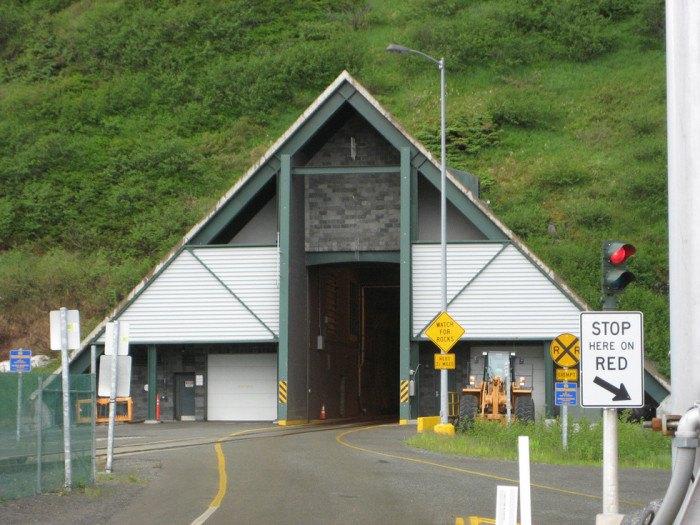Alaska's Anton Anderson Memorial Tunnel Is Totally Unique