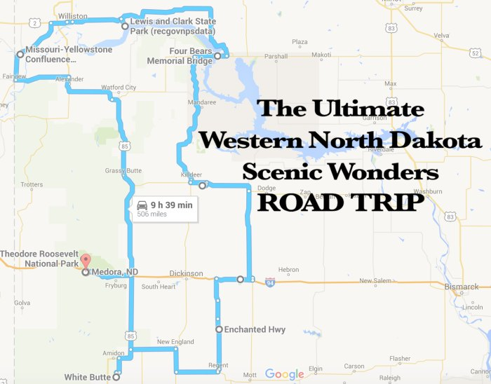 The Best Scenic Western North Dakota Road Trip