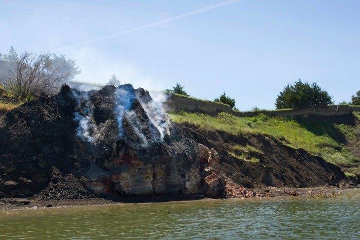 The Burning Bluffs