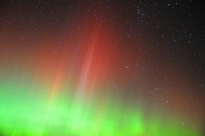 northern lights - Pickerel Lake