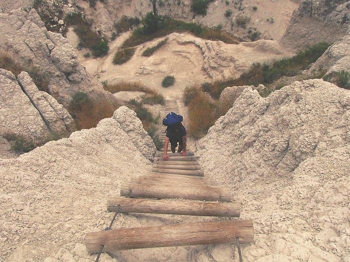 Badlands Descent On the Notch Trail of Badlands National Park