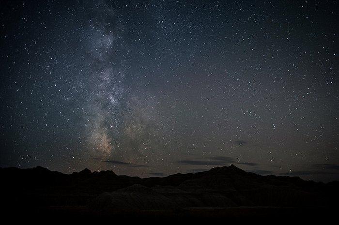 South Dakota stars at night
